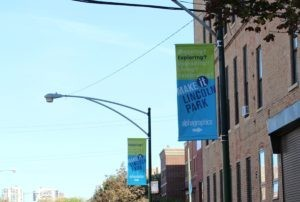 Lincoln Park Street Pole Advertising