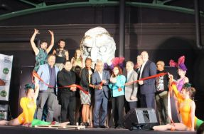 Theater on the Lake Celebrates with Ribbon Cutting