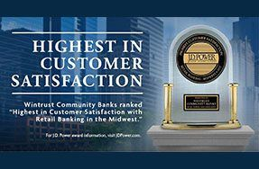 Wintrust Bank Old Town Wins Award from J.D. Power & Associates