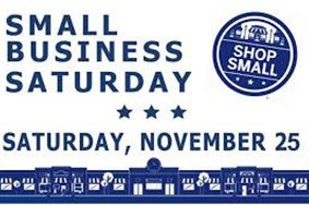 #ShopLocal on Small Business Saturday