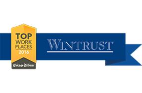 Wintrust Bank Named Top Workplace by Chicago Tribune