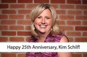 Happy 25th Anniversary, Kim Schilf!