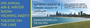 Theater on the Lake - 300 x 95 - Member Advertising.August 2018