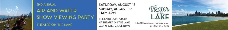 Theater on the Lake - Member Advertising - Air and Water Show - August 2018