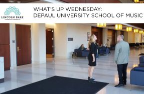 WHAT'S UP WEDNESDAY: DePaul University School of Music