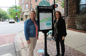 LPCC and Clark Street SSA #23 Debut New Wayfinding Signage