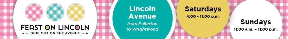 Feast on Lincoln 2020: Dine Out on the Avenue