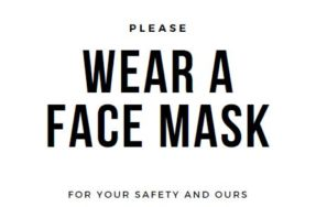 Reminder: Businesses Responsible for Customers Wearing Masks